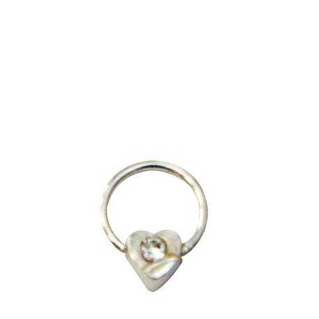 PIERCING STRASS CUORE