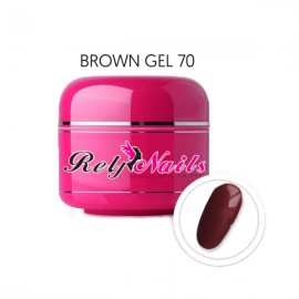 Color Gel Brown 70