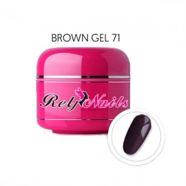Color Gel Brown 71