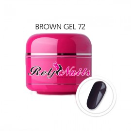 Color Gel Brown 72