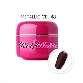 Color Gel Metallic 48